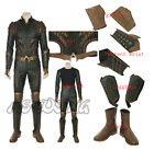 Justice League Aquaman Costume Cosplay Costume Accessories Jumpsuit Shoes Glove