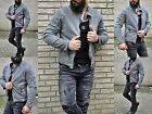 WILD Fashion Young Motorcross Rocker Biker dirty Washed Jacket Quilted Look