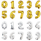 26'' Foil Number Birthday Anniversary Balloon Gold or Silver Party Decoration