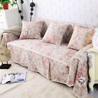 Floral Cotton Linen Slipcover Sofa Cover Oaur Protector for 1 2 3 4 seater fhjdh