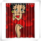 Beautiful Betty Boop Custom Fabric Shower Curtains  100% Polyester Waterproof $18.82 CAD