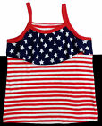 NWT Jumping Beans, Stars & Stripes Tank Sizes 12M 18M 24M, 2T 3T 4T, 6