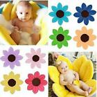 Baby Bath Mat Cute Flower Shape Blooming Super Soft Plush Lotus Bathing Tube New