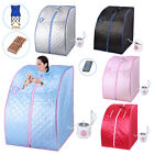 2L Steam and Infrared Full Body Sauna Spa Slimming Loss Weight Detox Therapy Home