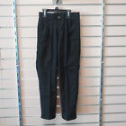 Boys Chaps Sizes 8 10 & 12 $34.00 Black Pleated Front School Approved Pants
