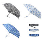 Miniflat Delph Folding Umbrellas Various Styles Compact Strong Fashionable