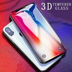New 3D Full Cover Tempered Glass 3D Curved Screen Protector For iPhone Models