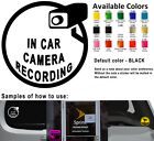 car business stickers - Security Camera Vinyl Decal Sticker Car Window CCTV Recording Protect Business
