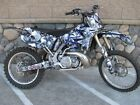 YZ125 YZ250 Graphics UFO Restyled kit 2002 - 2014 #5555 Gray Boneyard