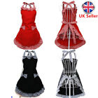 Ladies Women Sweet Funny Aprons Chefs Kitchen Vintage Novelty For Cooking BBQ UK