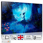 LARGE CARTOON SCENE DISNEY PRINCESS - STRETCHED CANVAS WALL ART PRINTS PICTURES