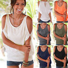 Women Oversized Baggy Loose Fit Turn up Batwing Sleeve Ladies T-Shirt Top Blouse