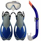 BODY GLOVE/TYPHOON KIDS CHILDS MASK SNORKEL & FINS, Flippers + FREE box & Bag