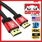 Ultra HD HDMI High Speed Cable UHD HDR 4K 3D 1080P Ethernet HDTV LED PS4 USA LOT