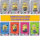 Topps DESPICABLE ME 3 SHINY, CHARACTER + MOVIE TRADING CARDS - Buy 3 get 6 FREE