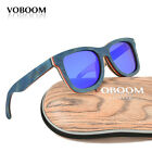 Voboom Men's Women's Bamboo Sunglasses Polarized Luxury Skateboard Wood Eyewear