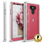 LG G6 Poetic Case [Revolution Series] Shockproof Rugged Protective Cover Pink