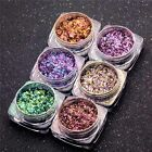 Glitter Magic Mirror Chrome Effect Dust Shimmer Nail Art Powder