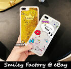 Cute Cartoon Design Drifting Flow Sand Inside Cover Case for iPhone 6/6S/7 Plus