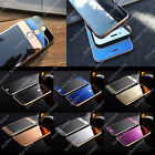MIRROR FRONT BACK TEMPERED GLASS COLOR SCREEN PROTECTOR FOR APPLE IPHONE 7 6 5 4