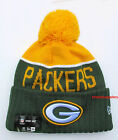 NFL Sports Knit Pom Top Cuffed Beanie Winter Cap Hat Authentic New Era