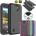 For LG K3 2017 Impact Shockproof Rubber Protective Rugged Hard Phone Case Cover