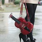 New women's faux leather creative violin shape handbag/purse long shoulder bags