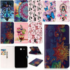 Flip Painting Pattern PU Leather Wallet Stand Case Cover For ipad Samsung Tablet