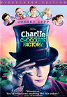 Charlie and the Chocolate Factory (DVD, 2005, Widescreen) Free Shipping