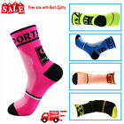 1 pair Men Women Riding Cycling Sports Socks Breathable Bicycle Footwear Unisex