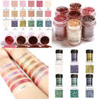 12 Colors Powder Pigment Glitter Eyeshadow Cosmetic Eye Shadow Makeup Set