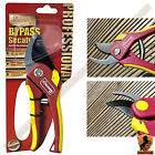 "8"" Kingfisher Bypass Secateurs Hand Pruner Pruning Shears Non-Stick Blades NEW"