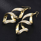 Twisted Criss-Cross Matte Exaggeration Punk Cocktail Style For Women Earrings