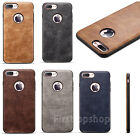 For iPhone 7/7plus 6/6plus Case Retrao Slim PU Leather Protective Back Cover