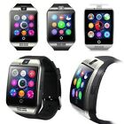 Q18 Bluetooth Smart Watch Phone Mate Sports GSM SIM For Android iPhone Samsung