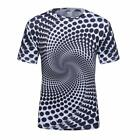 Logas Summer Animated and 3D Printed Graphic Casual Crewneck T-Shirt Men Tees