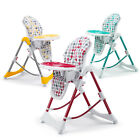 Foldable Baby High Chair Recline Highchair adjustable Height Feeding Seat New