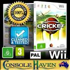 (Wii Game) Cricket / Ashes 2009 (G) (Sports) PAL, Guaranteed, Cleaned, Tested