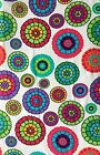 """""""Zinnias"""" Inspirations Springs Creative Cotton Quilt Fabric Craft Sewing"""