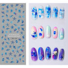 Ocean Series Water Decal Mermaid Starfish Shell Colorful Nail Art Stickers Tips