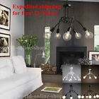 Loft Retro Modern Industrial Iron Ceiling light Pendant Lamp Chandelier New