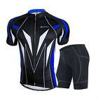 Sport Cycling Jersey Sets For Men 3D Padded Compression MTB Bike Shorts&Shirts