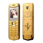 Unlocked Luxury A8 Mobile Phone Dual SIM 15 Inch Mini Metal Body Mobile Phone