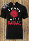 VIKINGS T SHIRT, VIKINGS TV SHOW I RAID WITH Ragnar, Ragnar Lodbrok VIKING
