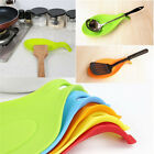 Kitchen Spoon Rest Heat Resistant Teabag Spatula Holder Dish Cooking Tools New