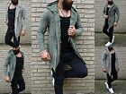 WILD YOUNG STYLE HEAVY DESTROYED FASHION KAPUZEN LONG SWEAT OUTFIT JACKE STREET