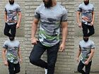 Destroyed VIP LONGSHIRT CAMOUFLAGE Army Military fashion UK Paris Style Party
