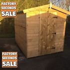 "Garden Shed Timber Tanalised ""FACTORY SECONDS"" Storage Hut Treated"