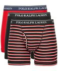 Polo Ralph Lauren Boxer Briefs Mens Underwear 3 Pack Gray Black Navy S M L XL
