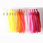 Tissue Paper Tassels Garlands Bunting Wedding Party Decoration Balloon Tail